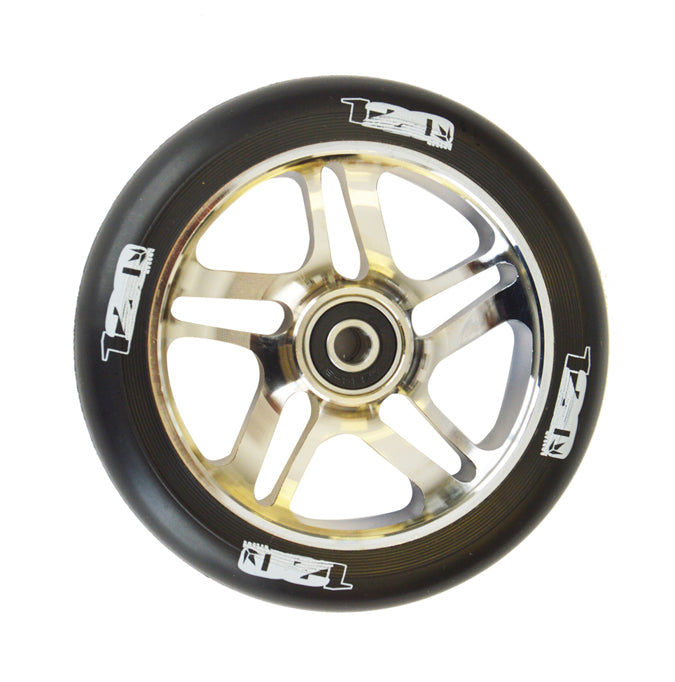 Envy 120mm 5 Spoke Scooter Wheels Chrome
