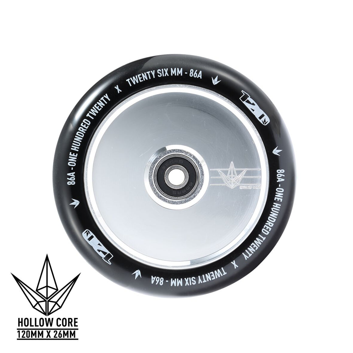 Envy Hollow Core Hologram Classic 120mm Scooter Wheels