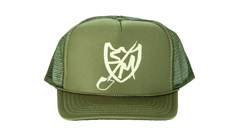 S&M Bikes Shovel Shield Trucker Hat