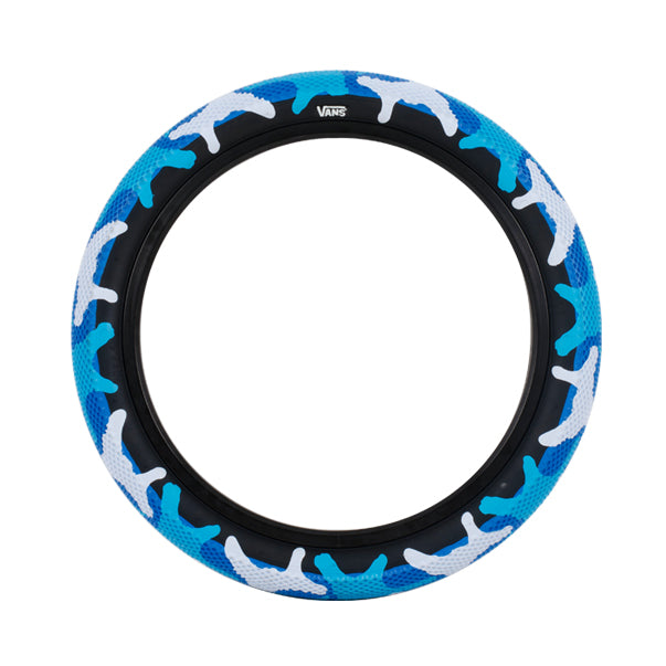 Cult Vans Tyre 20 x 2.4 - Blue Camo at District Cycle Store