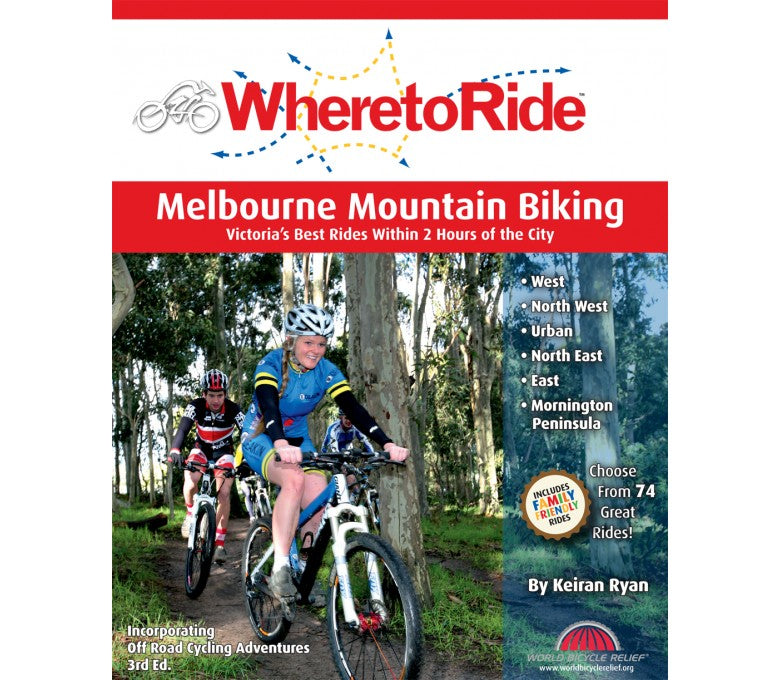 Where To Ride Melbourne MTB Book