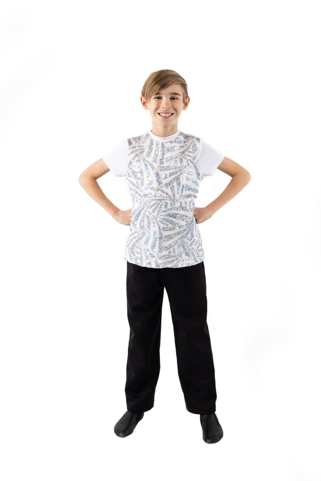 Boys Glimmer T-Shirt - Stardom Dance Costumes