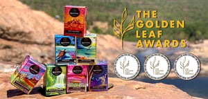 WE HAVE WON 3 GOLDEN LEAF TEA INDUSTRY AWARDS!