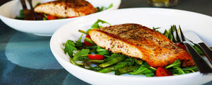 Baked Salmon with Super Detox