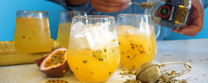 Native Happiness Iced Tea With Passionfruit
