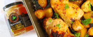 Lemon Myrtle Honey Chicken & Potatoes