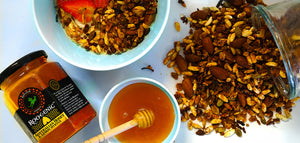 Roogenic Lemon Myrtle Honey Granola