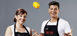 MKR Stars Anna & Jordan Bruno Fall in Love with Native Australian Foods