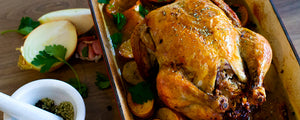 Roast Christmas Chicken w/ Australian Spices