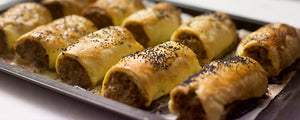 Roogeni-Pepperberry-Native Thyme-Sausage Roll