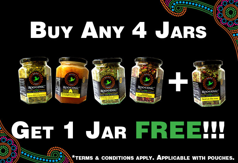 Buy any 4 Tea Jars, Tea Pouches or Honey to Get 1 Free