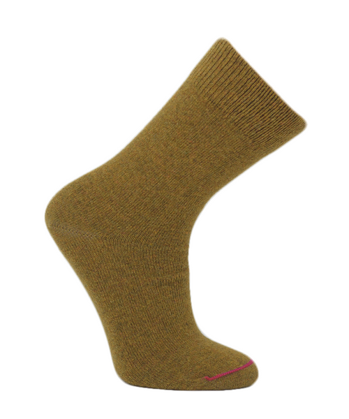 Women's Lambswool Casual Crew Socks - Made in Portugal