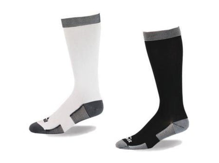 """Think Tank"" Cotton Compression Socks by Top & Derby (15-20 mmHg)"