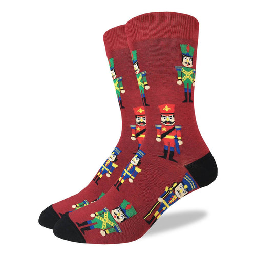 Nutcracker crew socks