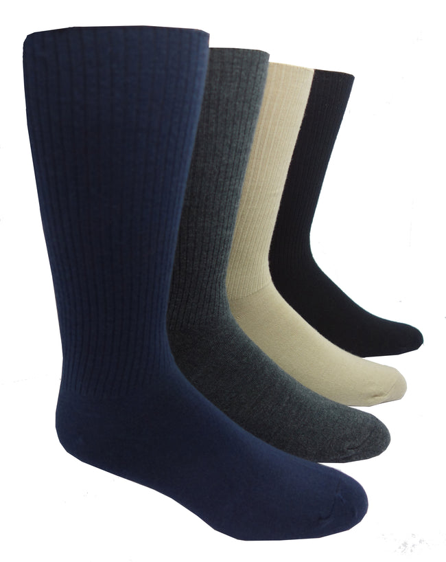 "J.B. Field's Men's Cashmere/Merino Wool Blend ""Non-binding"" Sock"