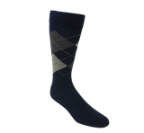 Vagden Argyle Cotton Dress Crew Sock - CLEARANCE
