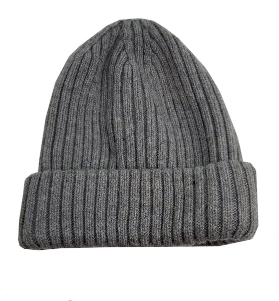 Merino Wool Blend Unisex Winter Hat - Made in Italy (One size fits all)