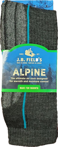 J.B. Field's Alpine Lightweight Merino Wool Ski Sock