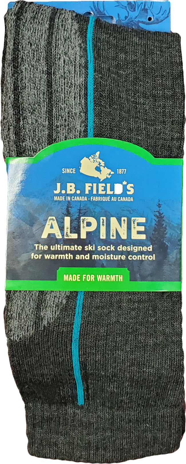 J.B. Field's Light-weight Merino Wool Ski Sock