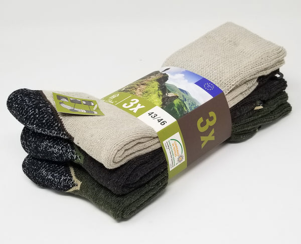 "J.B. Field's ""Summer Work"" Cotton Boot Sock Assorted 3PK"