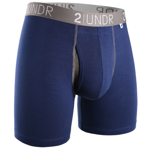 "2UNDR Swing Shift 6"" Boxer Brief - Navy"