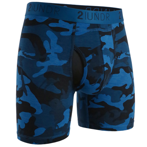 "2UNDR Swing Shift 6"" Boxer Brief - Night Camo"