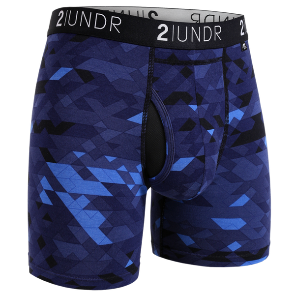 "2UNDR Swing Shift 6"" Boxer Brief - Geode"