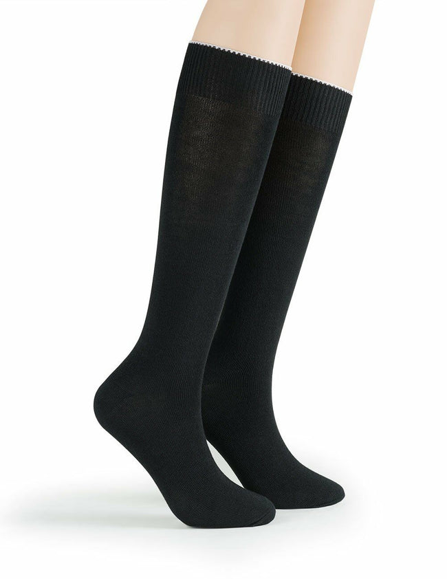 J.B. Field's Quick Dry Coolmax Knee-High Military Boot Liner Sock (3 Pairs)