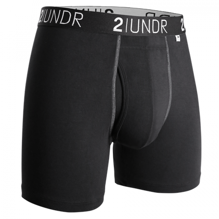 "2UNDR Swing Shift 6"" Boxer Brief - Forest"