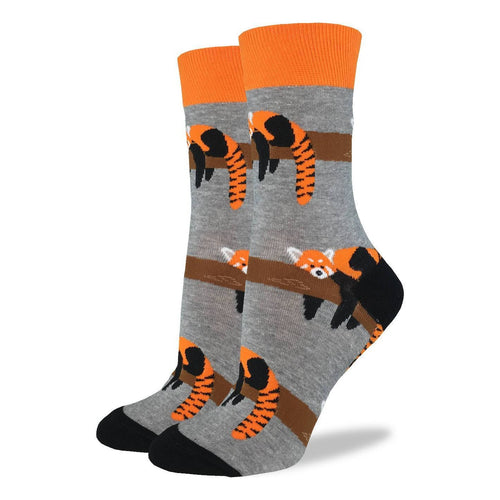 "Women's ""Red Panda"" Socks by Good Luck Sock"