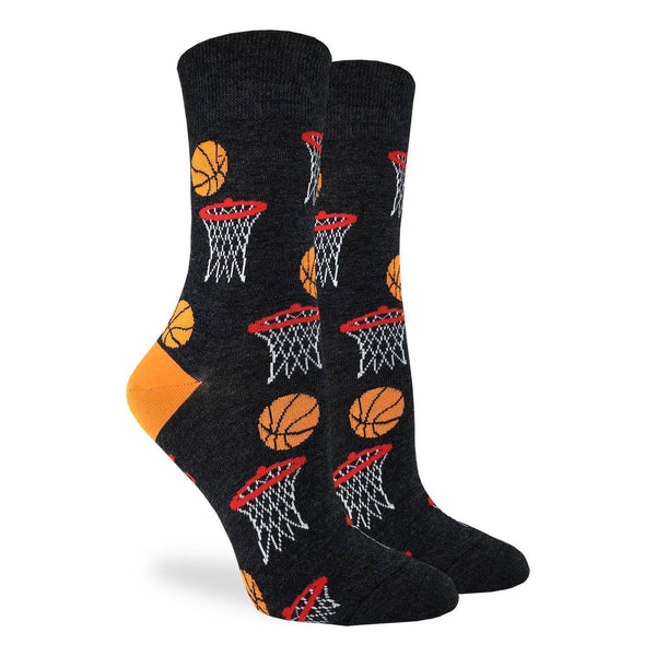 Unisex Basketball Cotton Crew Socks by Good Luck Sock