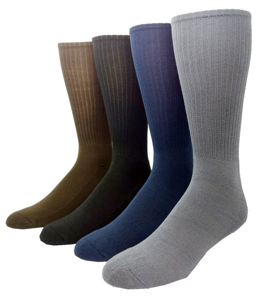 Non-elastic cushion bamboo socks