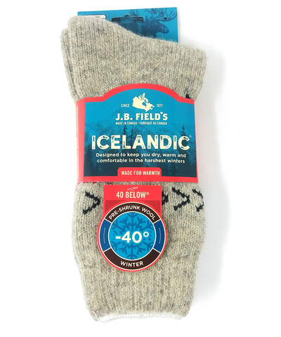 Icelandic true north sock
