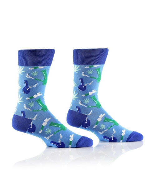 "Men's ""Pipe Dreams"" Cotton Dress Crew Socks by YO Sox"