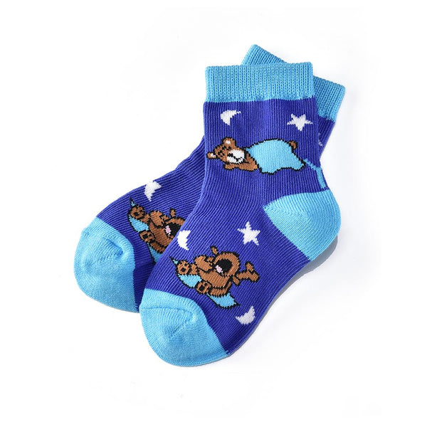"Kids ""Bedtime Bear"" Crew Socks by Yo Sox"