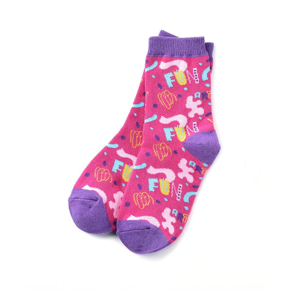 "Kids ""Artsy Fun"" Crew Socks by Yo Sox"