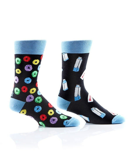 "Men's ""Fire Fighter"" Cotton Dress Crew Socks by YO Sox"