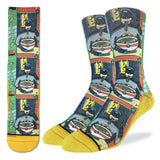Batman and Ramen socks