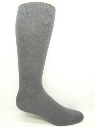 Men's Non-Elastic Merino Wool Dress Crew Sock- 2PK - Made in Portugal