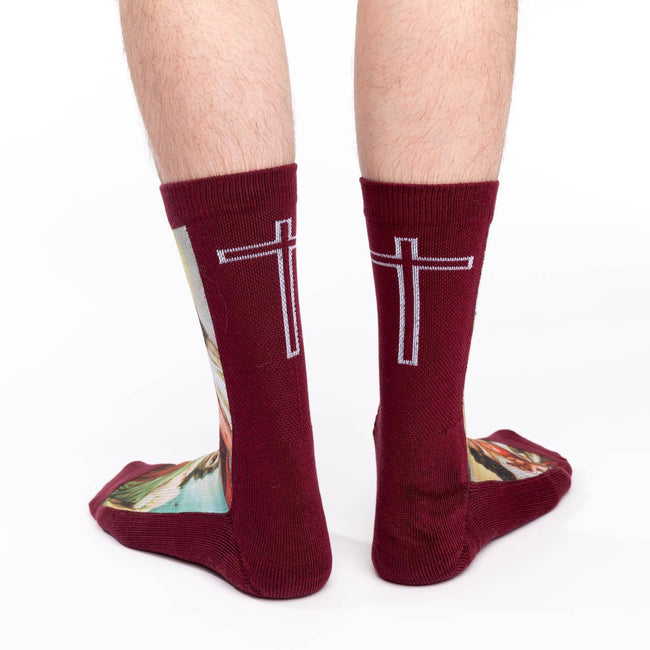 "Unisex ""Jesus"" Crew Socks by Good Luck"