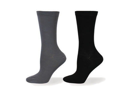 Wellness Men's Non-Elastic Striped Rayon from Bamboo Socks