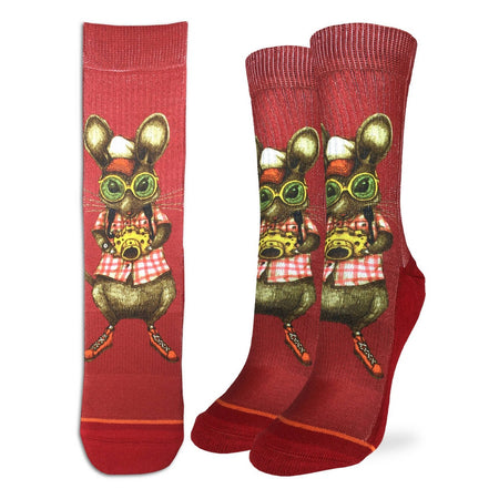 "Women's ""Artist Supplies"" Crew Socks by Good Luck Sock"
