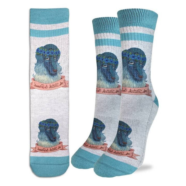 "Women's ""Bitch and Proud"" Active Socks by Good Luck Sock"