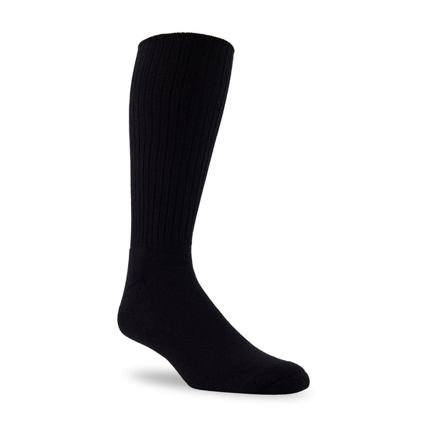 "J.B. Field's Casual ""98% Cotton Cushion"" Non-Elastic Sock"