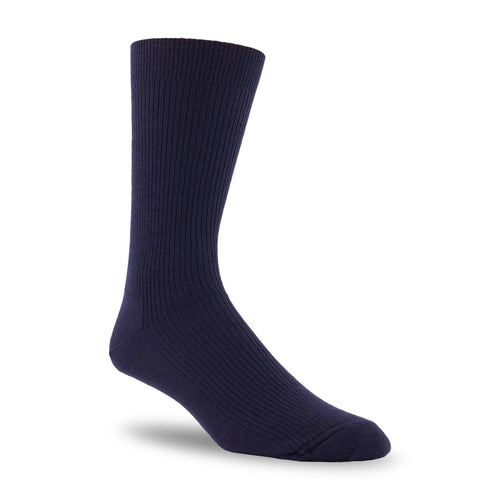 J.B. Field's Casual Cashmere/Merino Ribbed Dress Sock