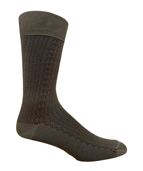 85% Cotton Casual Vertical Stich Dress Sock- CLEARANCE 6 PK