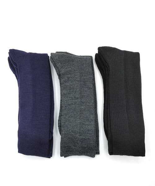 "Vagden ""No Ordinary Sock"" Merino Wool Cushion Crew Dress Sock - CLEARANCE 6PK"