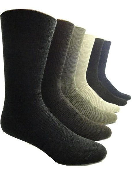 "Vagden ""Non-Elastic Top"" Merino Wool Dress Socks"
