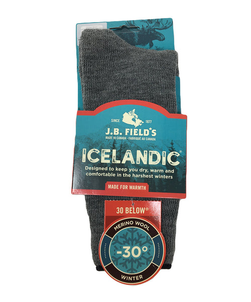"J.B. Field's Kids ""30 Below Classic"" Merino Wool Thermal Sock"