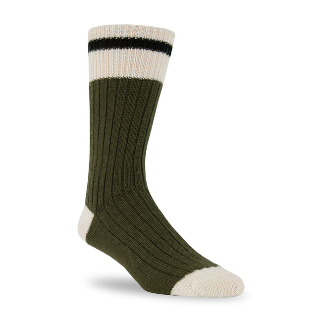 J.B. Field's Colorful Wool Cabin Socks